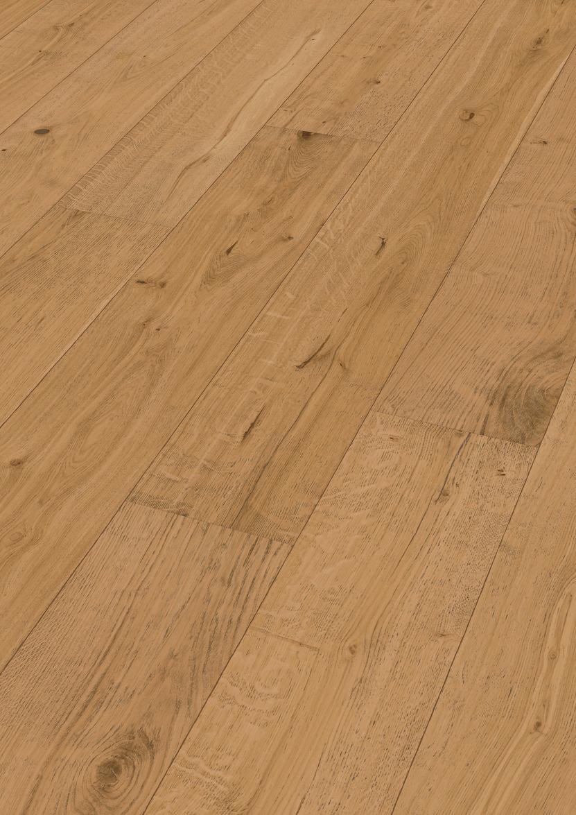Spiksplinternieuw MEISTER Lindura houten vloer Eik rustiek 8520 - Houten Vloeren NU-71