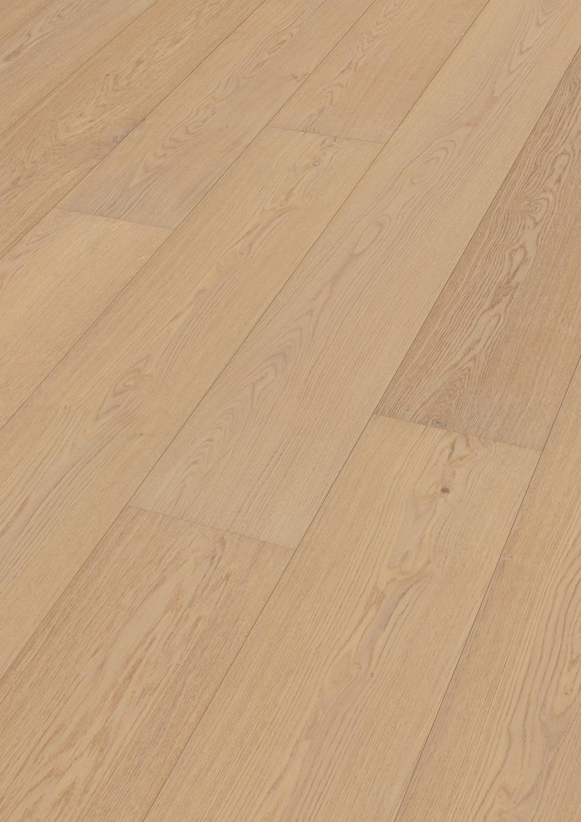 Beste MEISTER Lindura houten vloer Eik natuur alabast 8734 - Houten MR-74